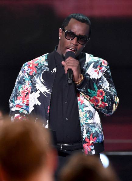 LOS ANGELES, CA - MAY 01:  Rapper Sean 'Diddy' Combs speaks onstage during the 2014 iHeartRadio Music Awards held at The Shrine Auditorium on May 1, 2014 in Los Angeles, California. iHeartRadio Music Awards are being broadcast live on NBC.  (Photo by Kevin Winter/Getty Images for Clear Channel)