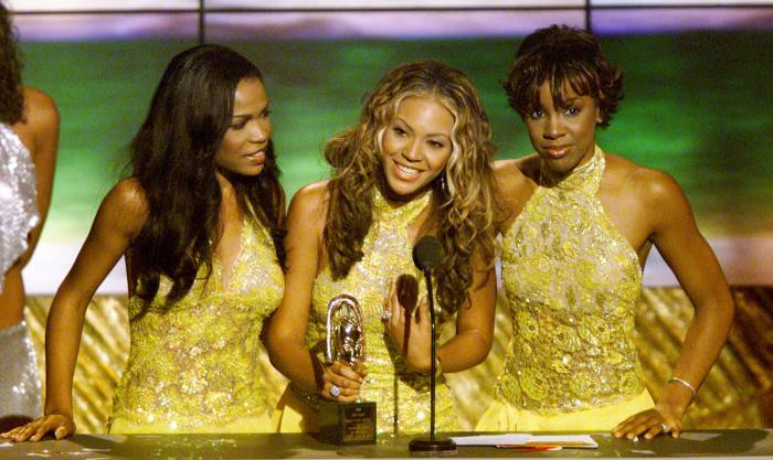 Destiny's Child won Best R&B/Soul Single-group, band or duo at the '6th Annual Soul Train Lady of Soul Awards', 9/2/00, at the Santa Monica Civic Auditorium in Santa Monica , Ca. Photo by Kevin Winter/ImageDirect.