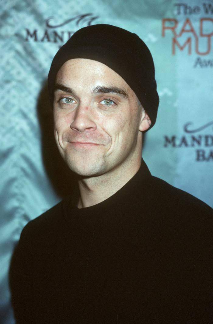 10/28/99 Las Vegas, NV. Robbie Williams at The WB Radio Music Awards, held at the Mandalay Bay Resort & Casino. Photo by Brenda Chase Online USA, Inc.