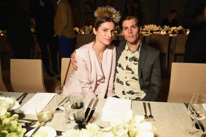 NEW YORK, NY - APRIL 02:  Tali Lennox and Ian Jones attend Audi's Celebration of partnership with the Whitney Museum on April 2, 2015 in New York City.  (Photo by Dimitrios Kambouris/Getty Images for Audi)