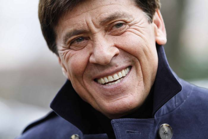 BOLOGNA, ITALY - MARCH 01:  Honorary president of Bologna FC Gianni Morandi during the visit of members of the board to the Bologna FC team headquarters on March 1, 2011 in Bologna, Italy. (Photo by Roberto Serra/Getty Images)