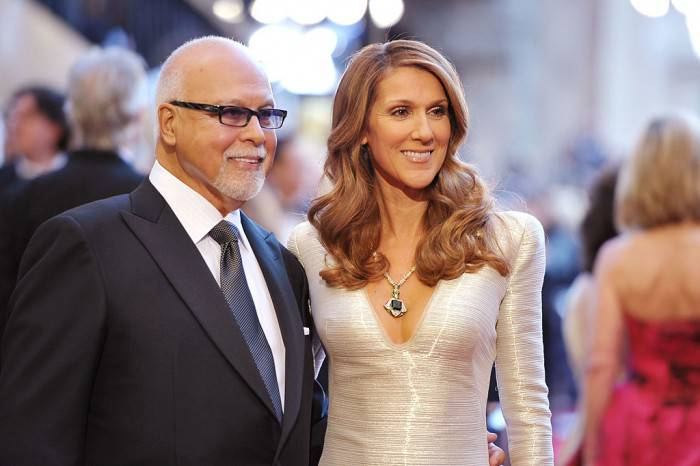 HOLLYWOOD, CA - FEBRUARY 27:  Singers Rene Angelil and Celine Dion arrive at the 83rd Annual Academy Awards held at the Kodak Theatre on February 27, 2011 in Hollywood, California.  (Photo by John Shearer/Getty Images)