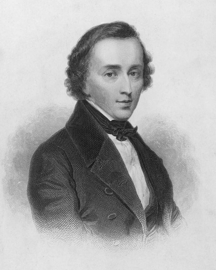 Polish composer Frederic Chopin (1810 - 1849), circa 1835. (Photo by Hulton Archive/Getty Images)