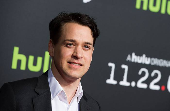 Actor T.R Knight attends the Hulu Original 11.22.63 Premiere, in Westwood, California, on February 11, 2016.  / AFP / VALERIE MACON        (Photo credit should read VALERIE MACON/AFP/Getty Images)