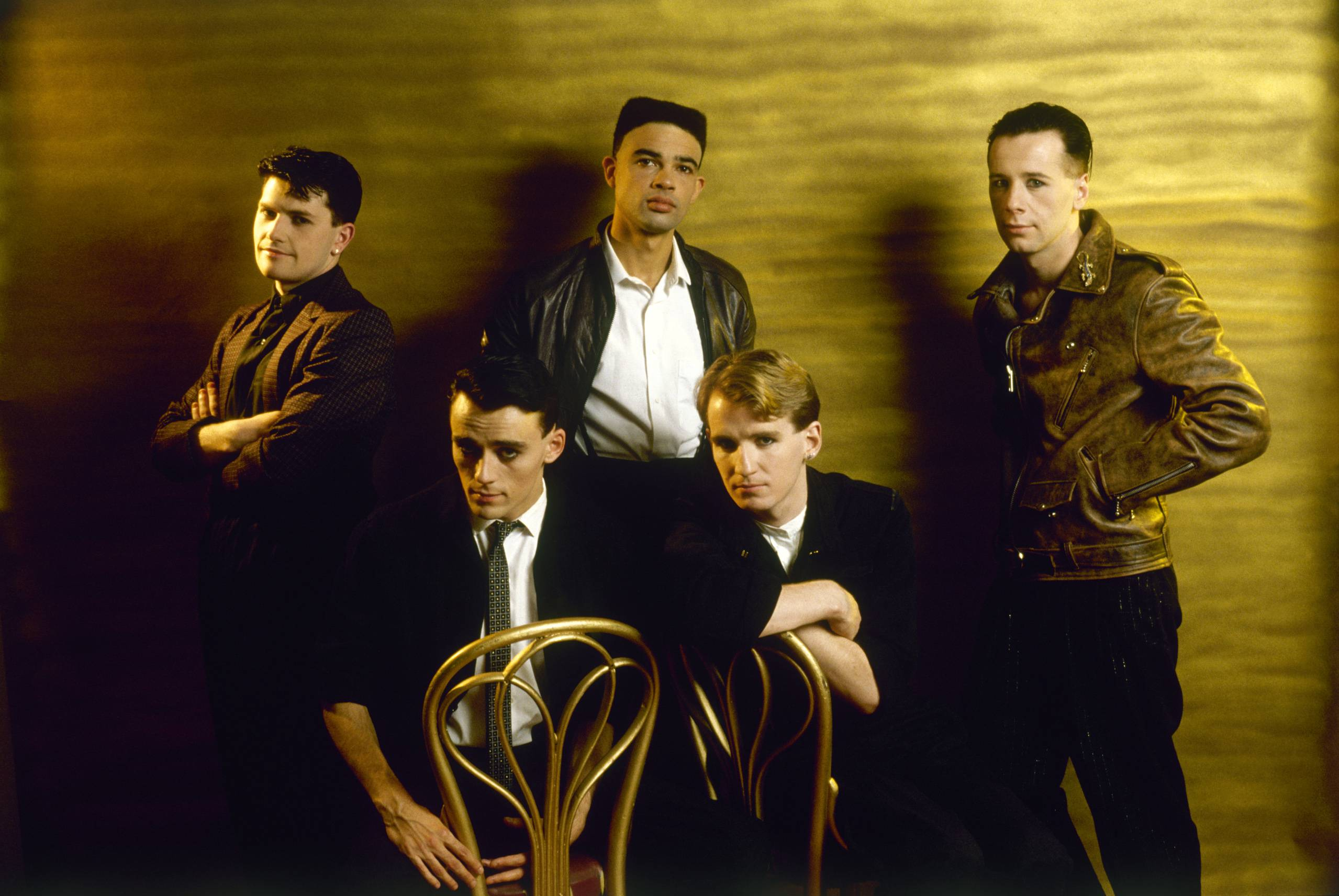 Simple Minds NGD-era photo - credit Sheila Rock