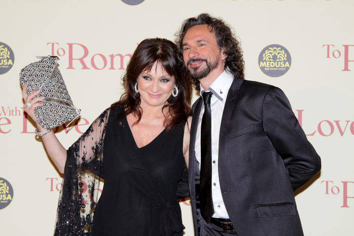 "ROME, ITALY - APRIL 13:  (L-R) Daniela Dessi and Fabio Armiliato attend the ""To Rome With Love"" World Premiere at Auditoriun Parco Della Musica on April 13, 2012 in Rome, Italy.  (Photo by Ernesto Ruscio/Getty Images)"
