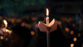 candela lutto