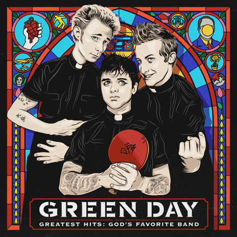 Green Day 'Greatest Hits_ God's Favorite Band'