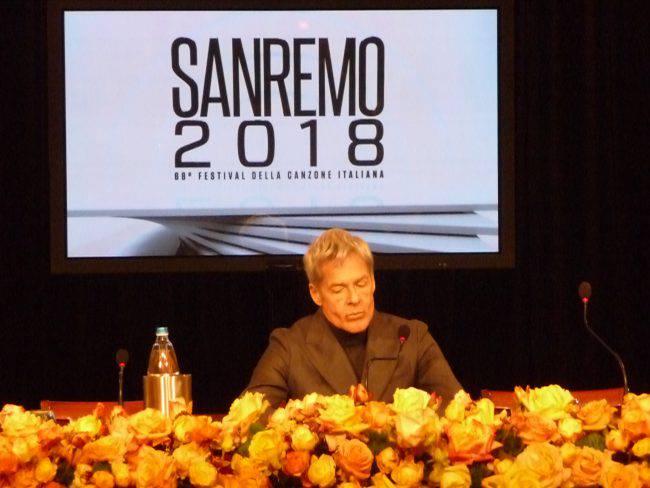 Festival di Sanremo, Favino e la Hunziker con Baglioni