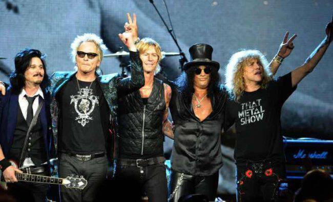 Guns N' Roses concerti