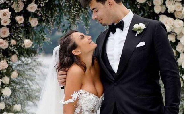 elettra lamborghini vestito sposa
