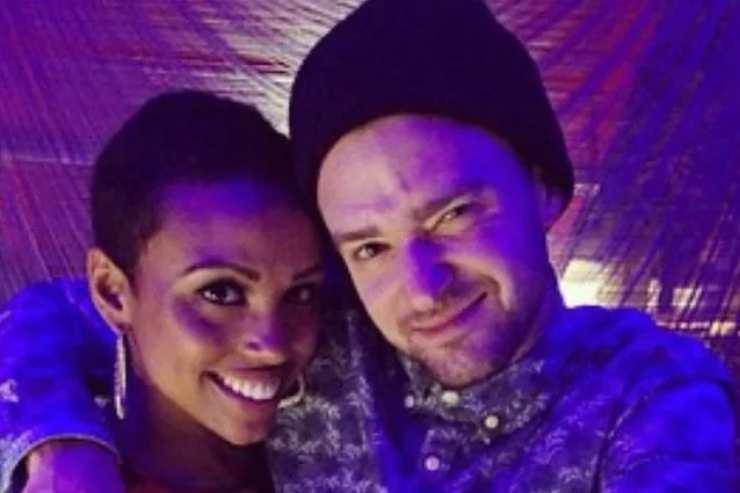 Nicole Hurst e Justin Timberlake