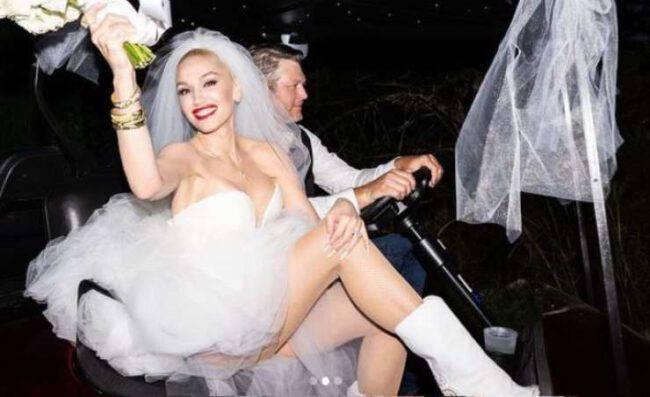 gwen stefani vestito sposa