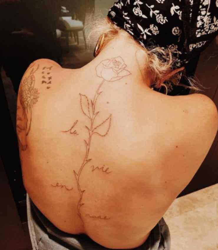 tatuaggio lady gaga