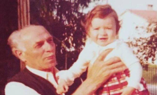 laura pausini da piccola nonno dedica